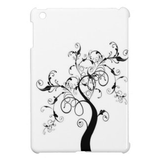 Black And White Tree Of Life Case For The iPad Mini