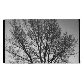 Black and White Trees iPad Cases
