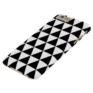 Black and White Triangle Pattern iPhone6 Plus Case