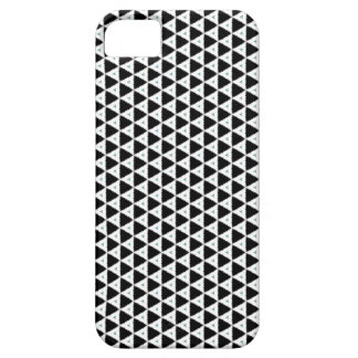 Black And White Triangle Pattern iPhone 5 Case