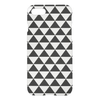 Black and White Triangle Pattern iPhone 7 Case