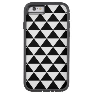 Black and White Triangle Pattern Tough Xtreme iPhone 6 Case