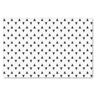 black and white tissue paper