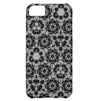 Black and White triangular pattern Case For iPhone 5C