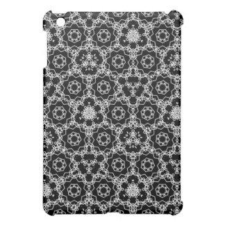 Black and White triangular pattern iPad Mini Covers