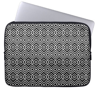 Black and White Tribal Pattern Computer Sleeve