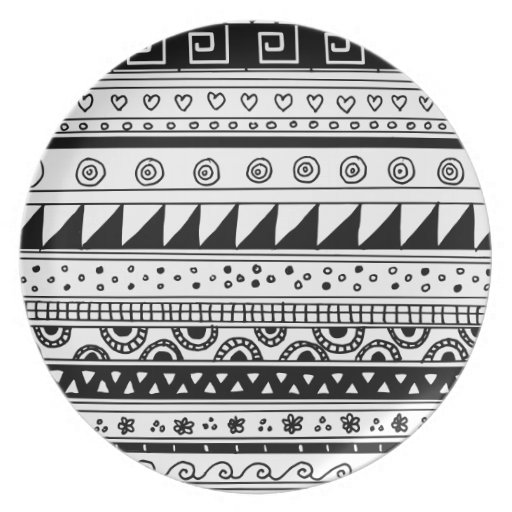 African Patterns Black And White Black And White Tribal Pattern