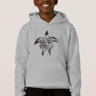 black-and-white-turtle hoodie