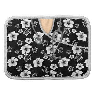 Black And White Turtles Medical Scrubs Planner