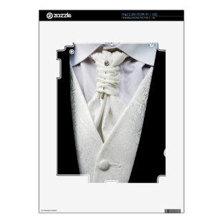 Black and White Tuxedo Collar iPad 2 Decal