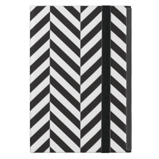 Black and White twill Cases For iPad Mini