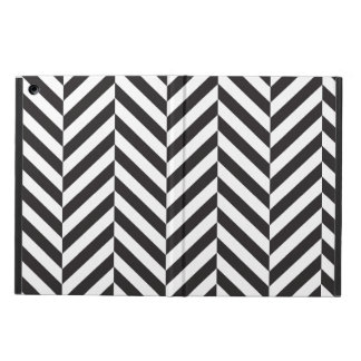 Black and White twill iPad Air Cover