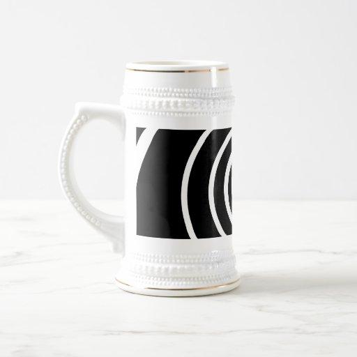 Black and White Twist. Coffee Mugs