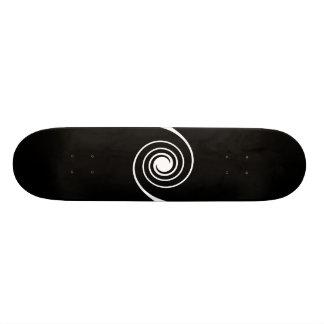 Black and White Twist. Skate Board Decks