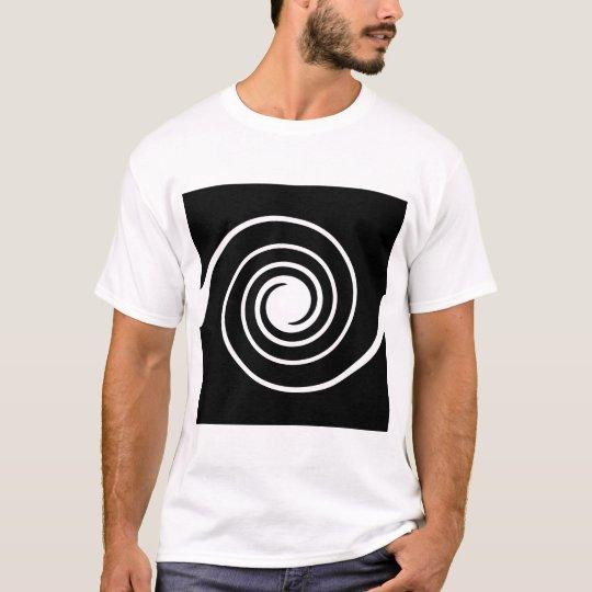 Black and White Twist. T-Shirt