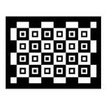 Black and White Vertigo Post Cards