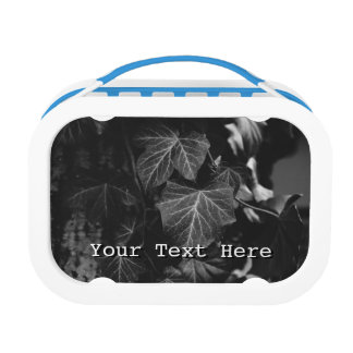 Black and White Vine Photograph Lunch Box