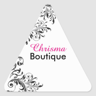 Black and White Vintage Beauty Sticker