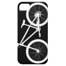 Black and White Vintage Bicycle iPhone 5s Cover