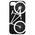 Black and White Vintage Bicycle iPhone 5s Cover iPhone 5 Covers