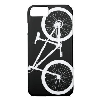 Black and White Vintage Bicycle iPhone 7 case Cove