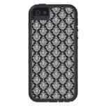 Black and White Vintage Damask Pattern 1 iPhone 5 Case