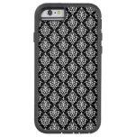 Black and White Vintage Damask Pattern 1 iPhone 6 Case