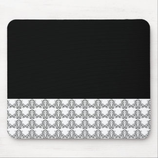 Black and White Vintage Style Mouse Pads