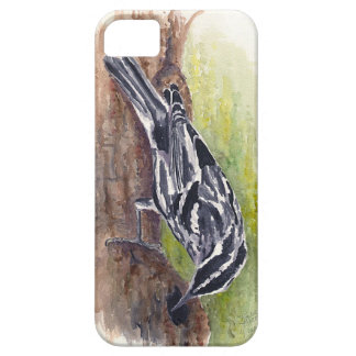 Black and White Warbler iPhone 5 Case