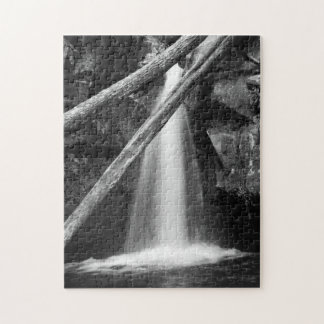 Black and white waterfall puzzles