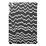 Black and White Wave Pern. iPad Mini Cases