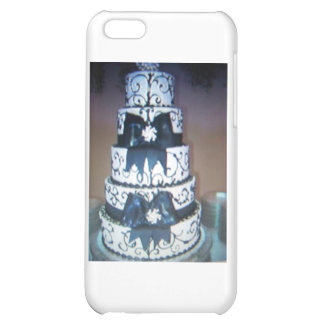 black and white wedding cake case for iPhone 5C