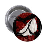 Black and White Wedding Gown Buttons