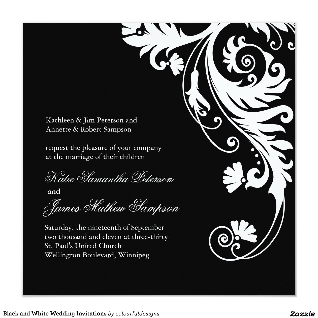 black and white wedding invitations black and white wedding invitations 1826