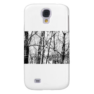 Black and White Winter Samsung Galaxy S4 Cover