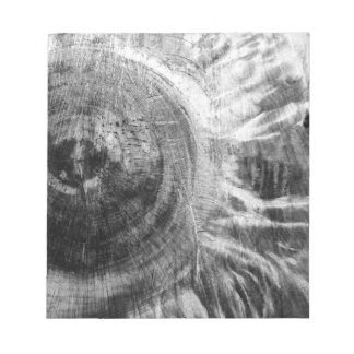 Black and white wood texture notepad