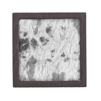 black and white wrinkled paper towel image gift box