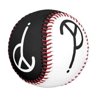 Black and White Y? Symbols Baseball