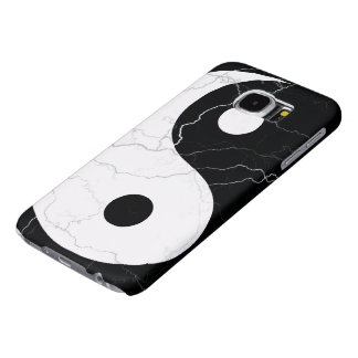 Black and White Yin and Yang Samsung Galaxy S6 Cases