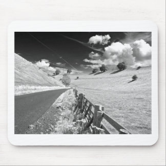 Black and white Yorkshire Mouse Mats