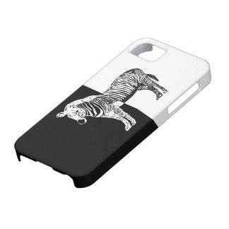 Black and white zebra iPhone SE/5/5s case