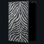 """Black and White Zebra Print iPad case<br><div class=""""desc"""">I use the &#39;limited palette&#39; of the three primary colors for my watercolor paintings. This produces all the shades and hues you see in my paintings. Red, yellow and blue transparent watercolor in both warm and cool shades can be mixed to obtain any color in the spectrum. I find I...</div>"""