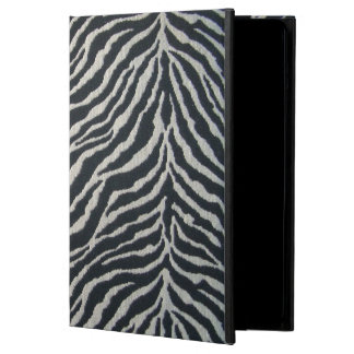 Black and White Zebra Print iPad case