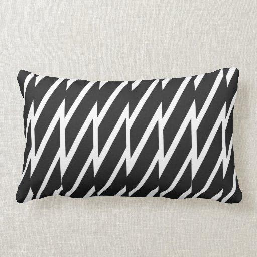 Black And White Zebra Throw Pillows : Black and White Zebra print Throw Pillow Zazzle