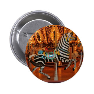Black and White Zebra Products Buttons