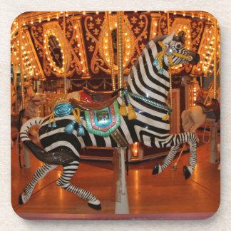 Black and White Zebra Products Coaster
