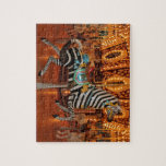 Black and White Zebra Products Puzzles