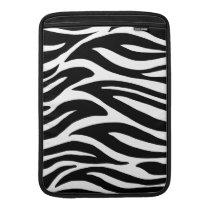 Black and White Zebra Stripes MacBook Air Sleeve