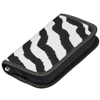 Black and White Zebra Stripes Planners