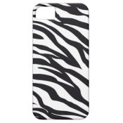 Black and White Zebra Stripes Print Pattern Gifts iPhone 5 Covers